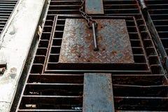 Χάλυβας κιγκλιδωμάτων Στοκ φωτογραφία με δικαίωμα ελεύθερης χρήσης