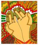 Χέρια άνετα Στοκ εικόνα με δικαίωμα ελεύθερης χρήσης
