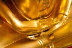 Χέρια αγαλμάτων του Βούδα Στοκ εικόνα με δικαίωμα ελεύθερης χρήσης