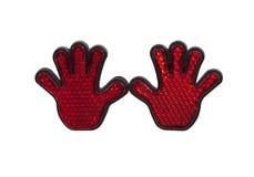 χέρια αντανακλαστικά στοκ εικόνα με δικαίωμα ελεύθερης χρήσης