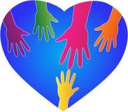 Χέρια βοηθείας ελεύθερη απεικόνιση δικαιώματος