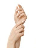 χέρια δάχτυλων Στοκ Φωτογραφίες