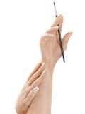 χέρια δάχτυλων στοκ εικόνες με δικαίωμα ελεύθερης χρήσης