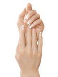 χέρια δάχτυλων στοκ εικόνα
