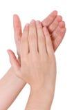 χέρια επιδοκιμασίας Στοκ φωτογραφίες με δικαίωμα ελεύθερης χρήσης