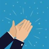Χέρια επιχειρηματιών που χτυπούν 2 ελεύθερη απεικόνιση δικαιώματος