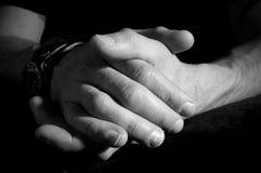 χέρια επιχορηγήσεων Στοκ Φωτογραφία