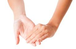 χέρια ευτυχή Στοκ εικόνα με δικαίωμα ελεύθερης χρήσης