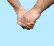 χέρια ζευγών Στοκ φωτογραφία με δικαίωμα ελεύθερης χρήσης