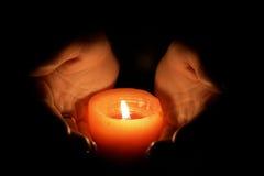 χέρια θερμά Στοκ φωτογραφίες με δικαίωμα ελεύθερης χρήσης