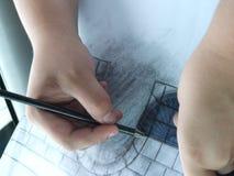 χέρια καλλιτεχνών Στοκ φωτογραφίες με δικαίωμα ελεύθερης χρήσης