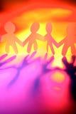 χέρια κουκλών που κρατού&n Στοκ φωτογραφία με δικαίωμα ελεύθερης χρήσης