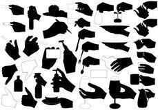 Χέρια με Στοκ Φωτογραφία
