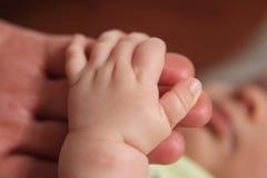 χέρια μωρών Στοκ Εικόνες