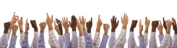 χέρια πολυφυλετικά Στοκ Φωτογραφία