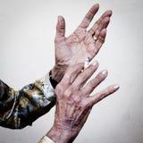 Χέρια που λένε τις ιστορίες Στοκ Εικόνες