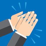 Χέρια που χτυπούν, επιδοκιμασία Στοκ εικόνες με δικαίωμα ελεύθερης χρήσης