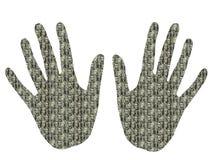 χέρια προεδρικά Στοκ Εικόνα