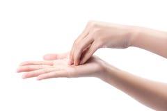 Χέρια πλύσης χειρονομίας στοκ φωτογραφία με δικαίωμα ελεύθερης χρήσης