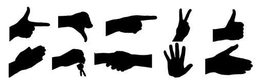 χέρια συλλογής ελεύθερη απεικόνιση δικαιώματος