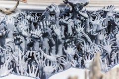 Χέρια της απελπισίας, Ταϊλάνδη Στοκ εικόνα με δικαίωμα ελεύθερης χρήσης