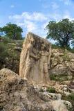 Χέρια τινάγματος Antiochus και Heracles Στοκ φωτογραφία με δικαίωμα ελεύθερης χρήσης
