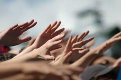 Χέρια των ανθρώπων στοκ εικόνες