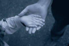 χέρια δύο Στοκ Εικόνα