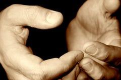 χέρια Στοκ φωτογραφία με δικαίωμα ελεύθερης χρήσης