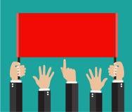 Χέρια Businessmans, χειρονομίες απεικόνιση αποθεμάτων