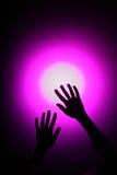 χέρια disco Στοκ φωτογραφία με δικαίωμα ελεύθερης χρήσης