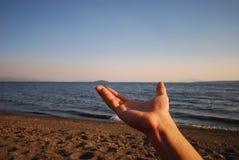 χέρι έκφρασης Στοκ φωτογραφία με δικαίωμα ελεύθερης χρήσης