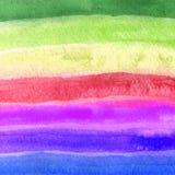 χέρι ανασκόπησης - γίνοντα χρωματισμένο μόνο watercolor αφηρημένο σχέδιο σχέδιο ανασκόπησης μοναδ Στοκ Εικόνα
