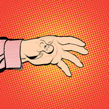 Χέρι ατόμων ` s που αντέχει για κάτι Απαίτηση ατόμων Άτομο που ερευνά για κάτι άτομο s χεριών Να φθάσει έξω σε κάτι απεικόνιση αποθεμάτων