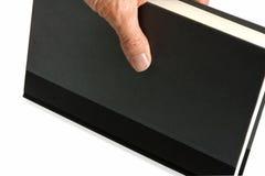 χέρι βιβλίων Στοκ φωτογραφία με δικαίωμα ελεύθερης χρήσης