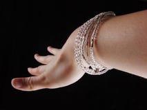 χέρι βραχιολιών Στοκ Εικόνα