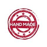 ` Χέρι - γίνοντα ` διανυσματική σφραγίδα Στοκ εικόνα με δικαίωμα ελεύθερης χρήσης