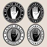 Χέρι - γίνοντες σφραγίδα/ετικέτα Στοκ φωτογραφία με δικαίωμα ελεύθερης χρήσης