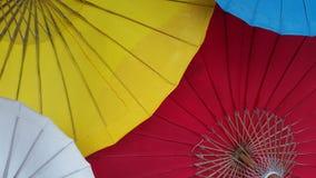 Χέρι - γίνοντη ομπρέλα Στοκ Εικόνες