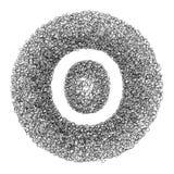 Χέρι - γίνοντη πηγή που σύρεται με τη γραφική μάνδρα Στοκ εικόνες με δικαίωμα ελεύθερης χρήσης