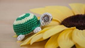 Χέρι - γίνοντη χελώνα Στοκ φωτογραφίες με δικαίωμα ελεύθερης χρήσης