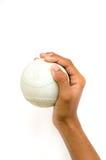 Χέρι για το σόφτμπολ Στοκ Εικόνες