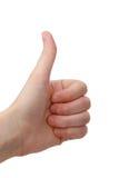 χέρι εντάξει Στοκ φωτογραφίες με δικαίωμα ελεύθερης χρήσης