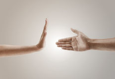 χέρι επιχειρησιακής χειρονομίας Στοκ Εικόνες