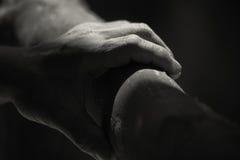 Χέρι εργάτη Στοκ Εικόνες