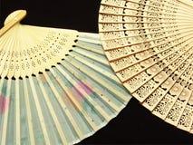 χέρι Ιαπωνία ανεμιστήρων στοκ εικόνες