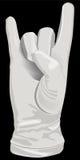 χέρι ι χειρονομίας μουσι&k Στοκ εικόνα με δικαίωμα ελεύθερης χρήσης