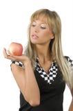 χέρι μήλων Στοκ εικόνα με δικαίωμα ελεύθερης χρήσης