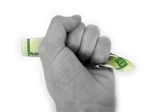 χέρι μετρητών στοκ εικόνα με δικαίωμα ελεύθερης χρήσης