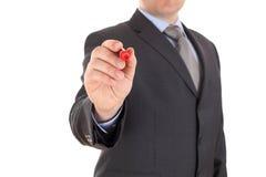 Χέρι με έναν δείκτη στοκ φωτογραφίες με δικαίωμα ελεύθερης χρήσης